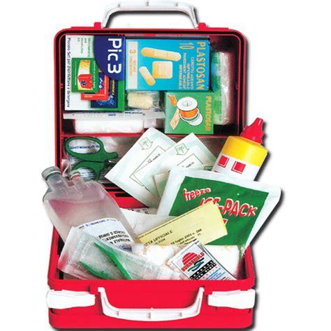 cassetta pronto soccorso 626 kit pronto soccorso valigetta 626 28x24x13cm allegato