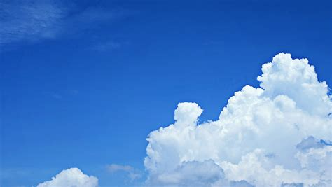 stock photo  blue clouds cloudy