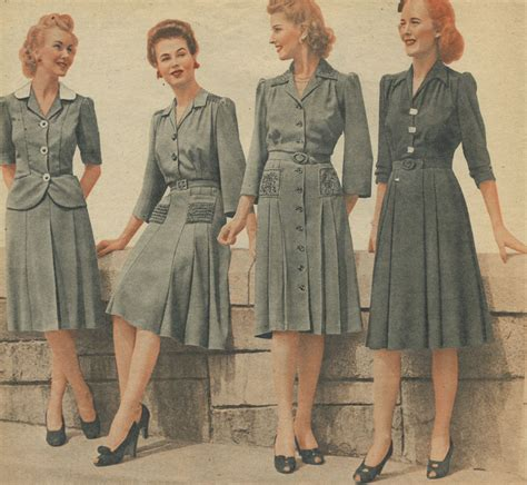 1940s Womens Fashion | revisiting 1940 vintage fashion her blog