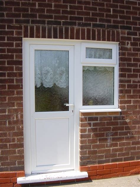 Doors With Side Windows by Upvc Doors Energy Efficient Glazed Doors