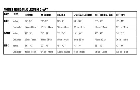1 Emory Gracieux Measuement Size Large toit volant sizing measurement chart in inches centimeter