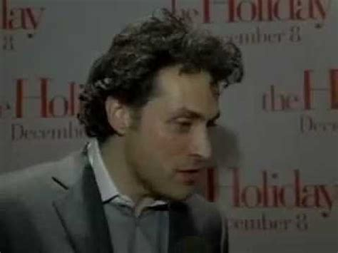 rufus sewell holiday quot the holiday quot premiere interview rufus sewell youtube