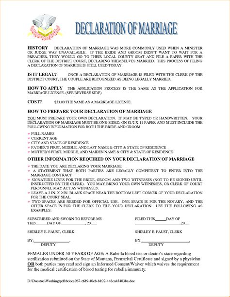 Loan Application Letter For Marriage Marriage Contract Sle Sle Marriage Separation Agreement Form Template Png Loan