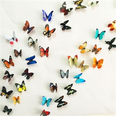 stickers on the wall decoration 3d butterfly wall decor wall sticker butterflies on the