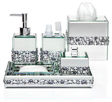 Glamorous Bathroom Accessories Ricci Vanity Collection Modern Bathroom Accessories By Z Gallerie