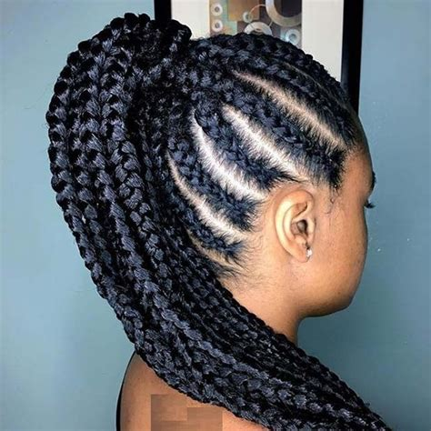African Cornrows Designs 2018 : New Collection You Need to Look Beautiful