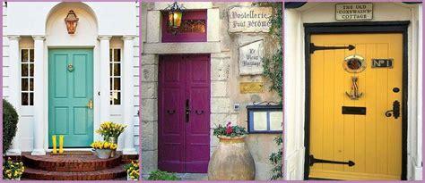 puerta entrada casa combinar colores