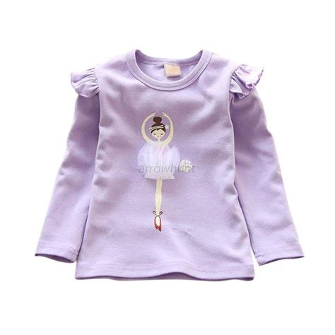 Baby Sleeve Printed T Shirt fashion baby clothes sleeve printed cotton