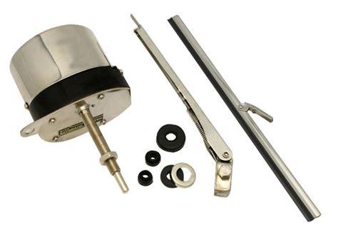 12v stainless windshield wiper motor kit rat rod
