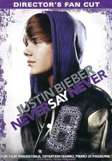 Justin Bieber Book Never Say Never justin bieber never say never dvd director s fan cut
