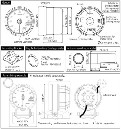 defi tachometer wiring diagram 30 wiring diagram images