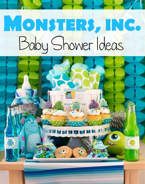 monsters inc decorations for baby shower monsters inc baby shower ideas pinkducky it s a