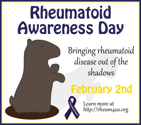 groundhog day quotes booties rheumatoid awareness day how rheumatoid arthritis affects