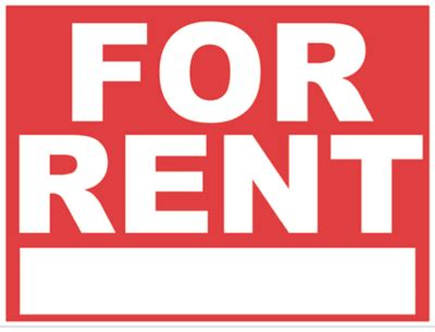 printable house for rent sign beven and brock property management