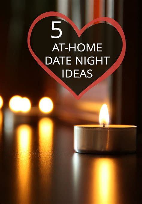 date at home 5 ideas for parents