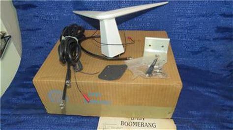 vintage wintenna baby boomerang vehicle tv antenna made in usa damaged ebay