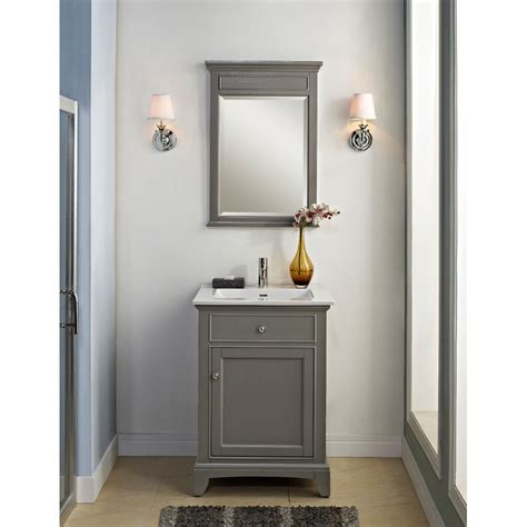 "Fairmont Designs 24"" Smithfield Vanity   Medium Gray"