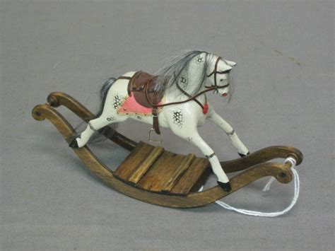 dolls house rocking horse a dolls house rocking horse 194 163 15 25 doll houses and miniatures pi