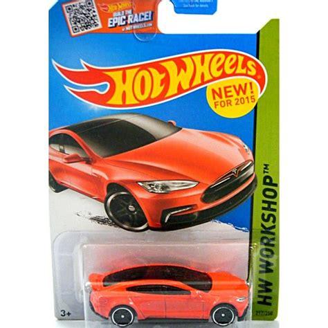 hot wheels tesla model  red