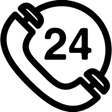 telephone  hours sign  signs icons