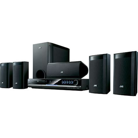jvc ht g30 5 1 channel home theater system th g30 b h photo