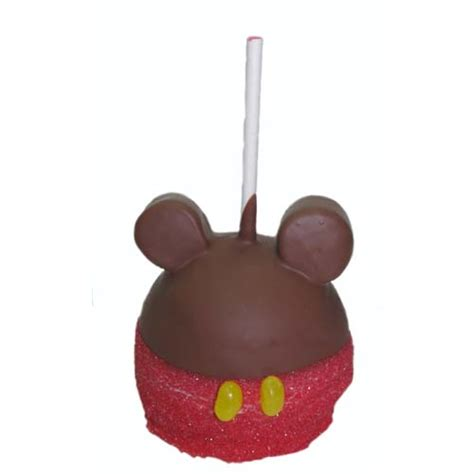 Apple Mickey Mouse Your Wdw Store Disney Goofy Co Caramel Apple Micky Mouse