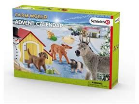 Calendrier De L Avent 2017 Schleich Calendrier De L Avent Farm World 2017