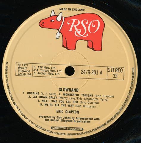 Eric Clapton Slowhand Vinyl 1977 - eric clapton slowhand 1977 original uk 24 bit