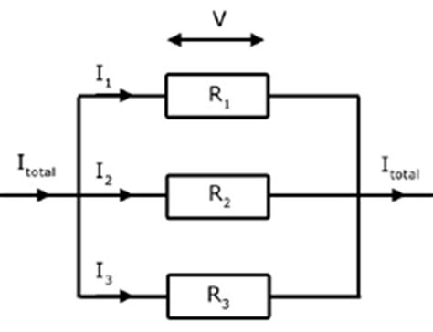 pd across capacitors in parallel electricity simple electrical circuits