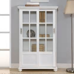 Bookshelves With Doors Altra Bookcase With Sliding Glass Doors 9448096