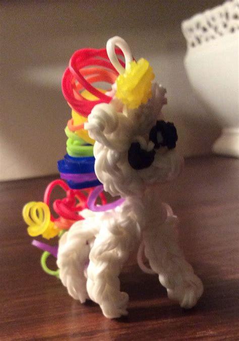 loom band unicorn printable instructions rainbow loom unicorn aubrie brooke pinterest it is