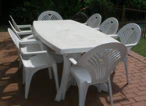 Pvc Patio Table Photolizer Furniture And Outdoor Table
