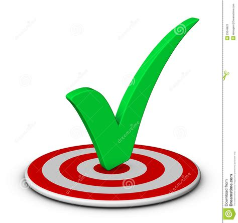 Target Background Check Check And Target Stock Image Image 23049821
