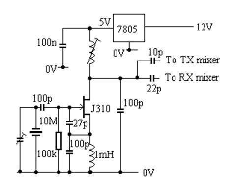 fet transistor oscillator g3ymc transverter