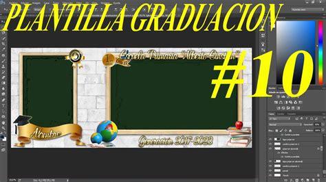 imagenes de graduaciones escolares plantilla psd graduaci 243 n para colocar fotos en los marcos