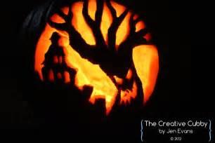 spooky tree pumpkin template the creative cubby pumpkin carving 2012