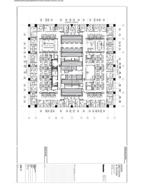 787 Floor Plan by 787 7th Avenue 11th Floor Vts