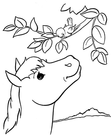 coloring pages of animals that you can print sparet er tjent heste tegninger