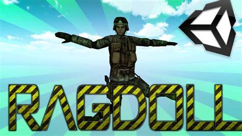ragdoll unity unity 3d ragdoll easy tutorial