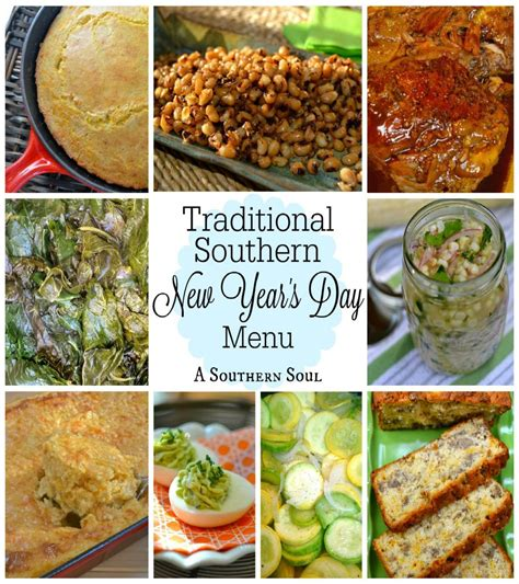 new year dishes menu traditional southern new year s day menu a southern soul