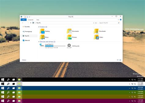 theme windows 10 color windows 10 tp color full theme for windows 8 1
