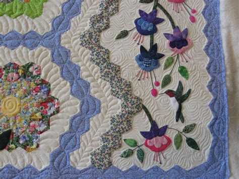 Grandmother S Flower Garden Quilt Twiddletails Quilting Grandmother S Flower Garden