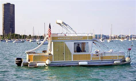 chicago tiki boat inc in chicago il groupon - Tiki Boat Chicago
