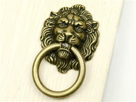 lion head cabinet pulls sale 15pcs antique bronze lion head hardware pulls