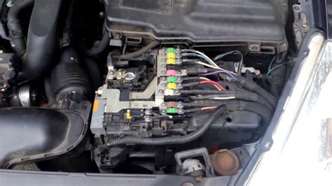 peugeot 407 battery peugeot 508 batery compartment