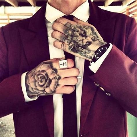 25 best ideas about suits and tattoos on the