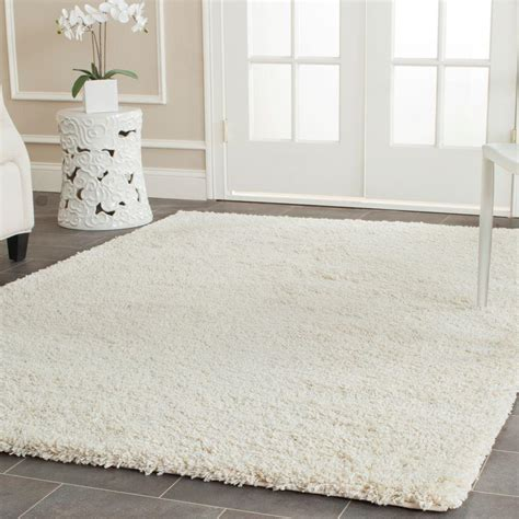 Ivory Rug 8x10 by Safavieh California Shag Ivory 4 Ft X 6 Ft Area Rug