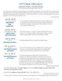 Exles Of Resume Writing by Free Resume Sles A Variety Of Resumes