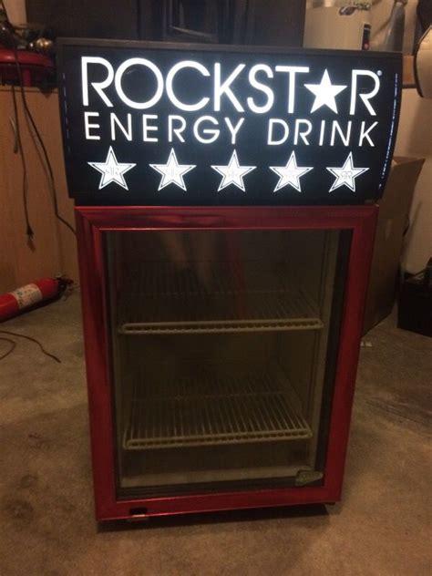 energy drink mini fridge rockstar energy drink mini fridge appliances in everett