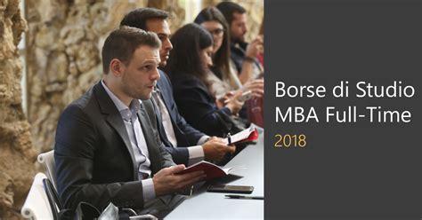 Di Mba by Borse Di Studio Per Il Programma Luiss Mba Time 2018